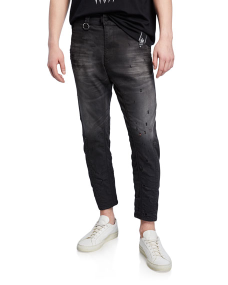 Image 1 of 3: Diesel Men's Earby Distressed JoggJeans