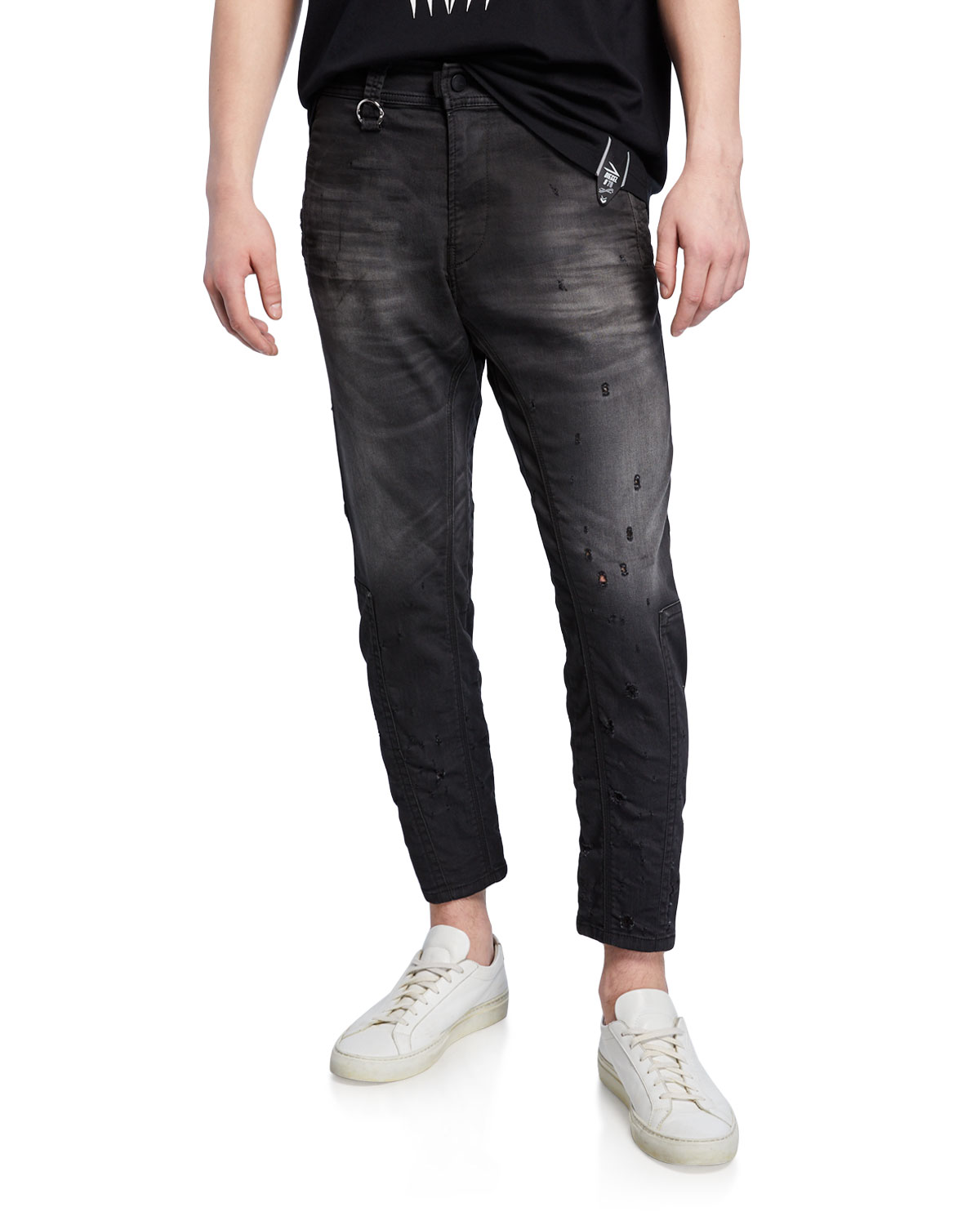 Diesel Men's Earby Distressed JoggJeans