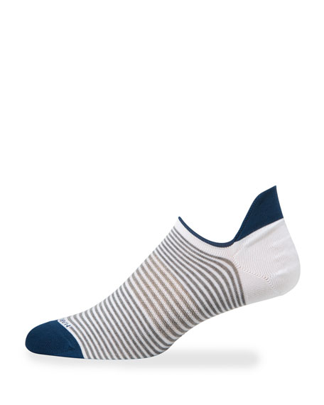 Image 1 of 2: Marcoliani Men's No-Show Cotton Socks