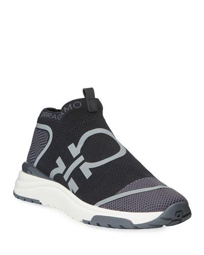 Men's Tonino Gancini Knit Sneakers
