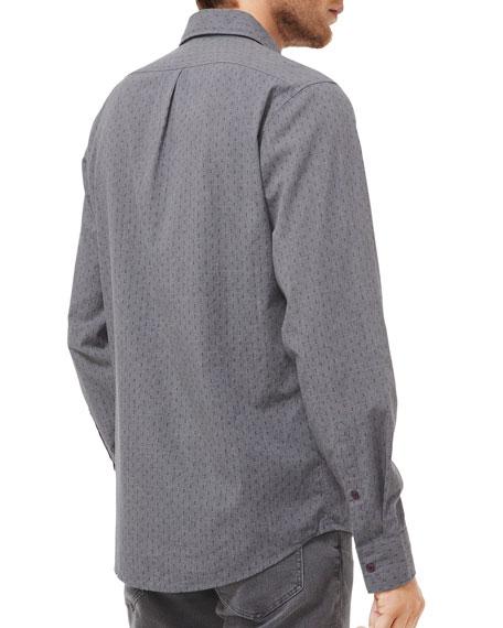 Michael Kors Men's Dice-Print Slim-Fit Sport Shirt