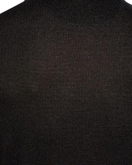 Michael Kors Men's Jasper Metallic-Jacquard Polo Shirt