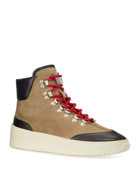 Fear of God Men's 6th Collection Suede Hiker Sneakers