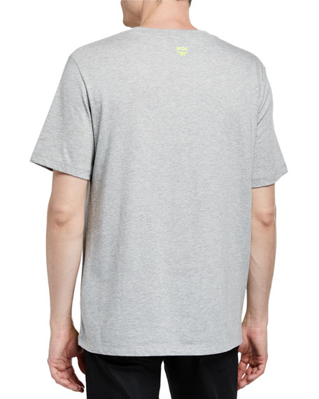 MCM Men's Logo Typographic T-Shirt