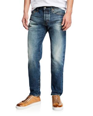 2549ed3c68b72 AG Adriano Goldschmied Men s Dylan Modern-Slim Jeans