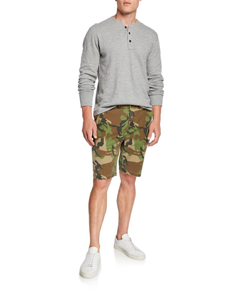 Hudson Men's Camo Relaxed Chino Shorts