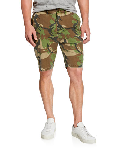 Men's Camo Relaxed Chino Shorts
