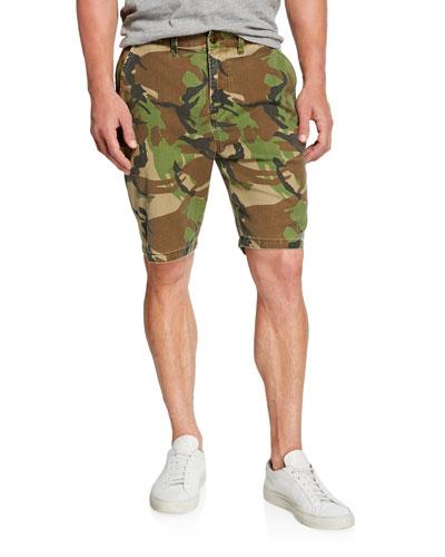 Men's Camo Relaxed Chino Shorts
