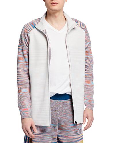 Men's x Missoni PHX Zip-Front Jacket