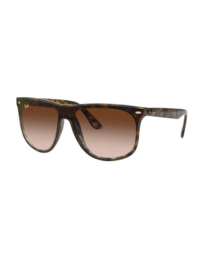 Men's Blaze Gradient Square Sunglasses