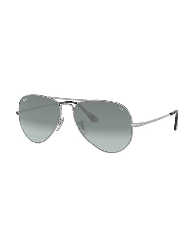 Men's Evolve Polarized Gradient Metal Aviator Sunglasses
