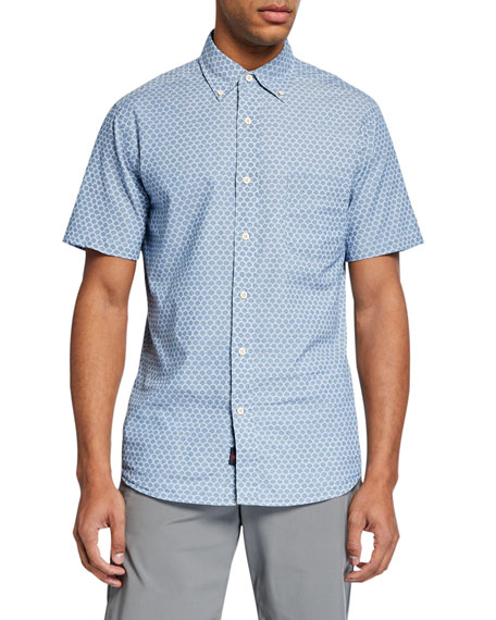 Faherty T-shirts MEN'S PACIFIC SHORT-SLEEVE SHIRT