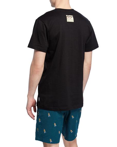 Icecream Men's Skull Short-Sleeve Graphic T-Shirt