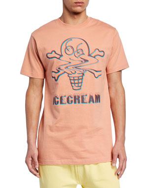 f088e735 Icecream Men's Swirl Logo-Graphic T-Shirt