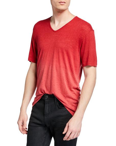 John Varvatos T-shirts MEN'S BRAYDEN DIP-DYED T-SHIRT