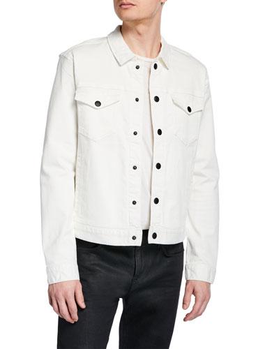 Men's Paul Snap-Front Trucker Jacket