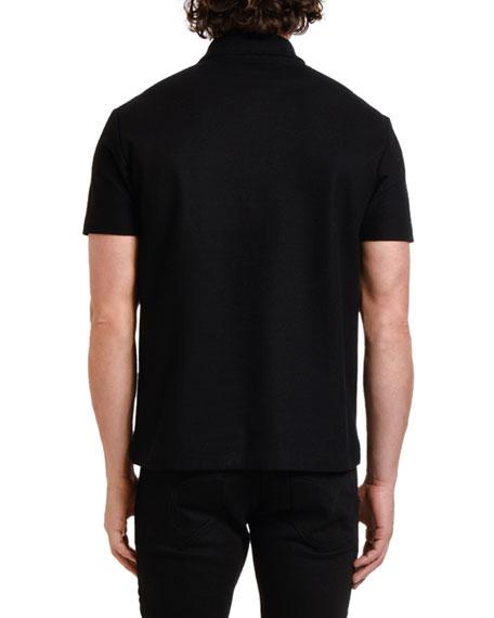 Versace Men's Medusa Pique Polo Shirt