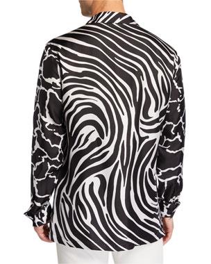 f00290d0d Versace Men's Shoes, Clothing & More at Neiman Marcus