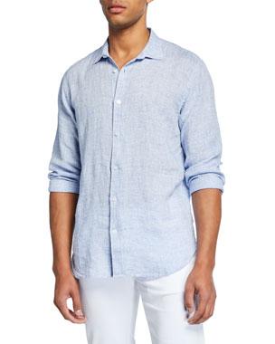 4a0cf8e1b Orlebar Brown Men s Giles Linen Sport Shirt