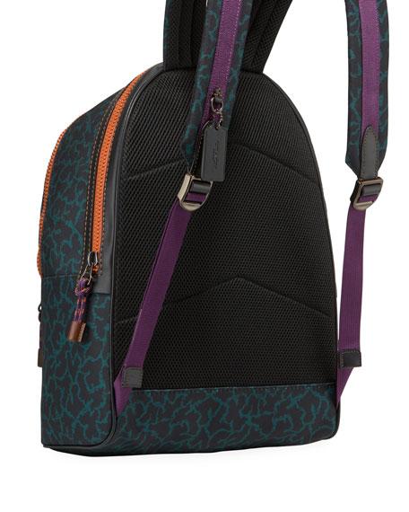 Coach Men's Academy Animal-Print Backpack