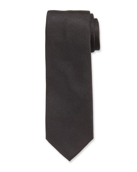 Salvatore Ferragamo Istamb 7 Solid Silk Tie
