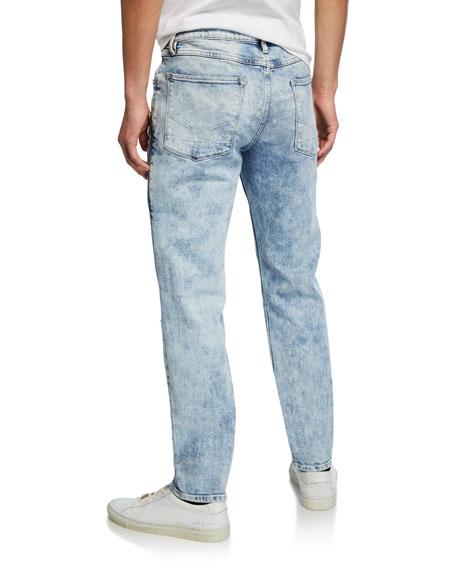 Hudson Men's Sartor Acid-Wash Distressed Jeans