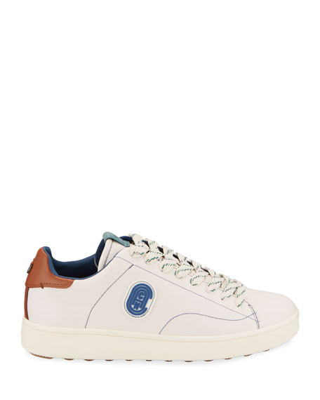 Coach Men's Low-Top Leather Sneakers