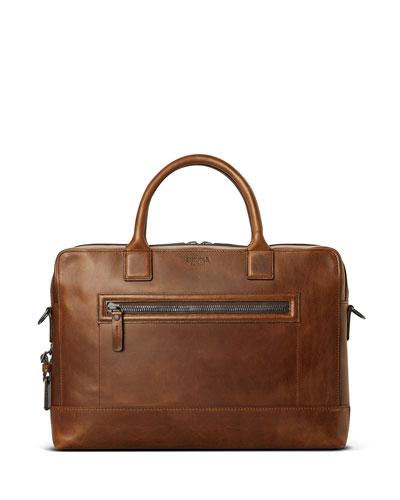 Men's Bedrock Embossed Harness Briefcase