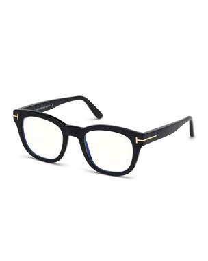 dd4b48f16b TOM FORD Men s Square Acetate Optical Glasses