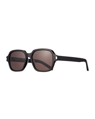 Men's SL 292 Rectangle Acetate Sunglasses
