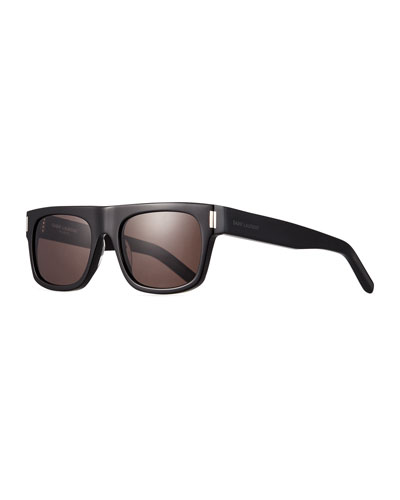 Men's SL 293 Rectangle Acetate Sunglasses