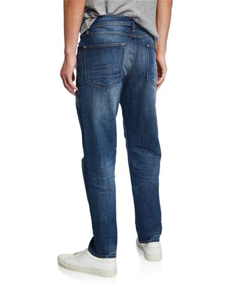 Hudson Men's Sartor Delinquent Distressed Jeans