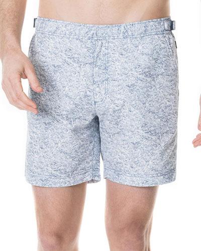 Men's All Day Bay Palm-Print Shorts