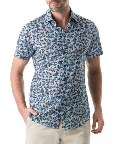 Men's Cape Wanbrow Animal Shirt