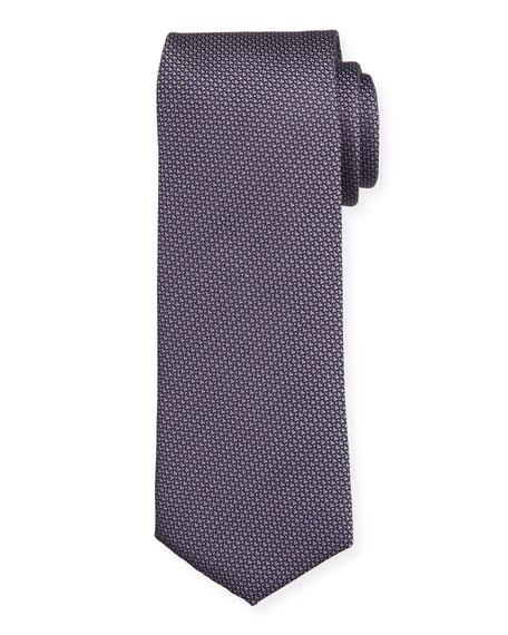 BOSS Micro-Pattern Silk Tie