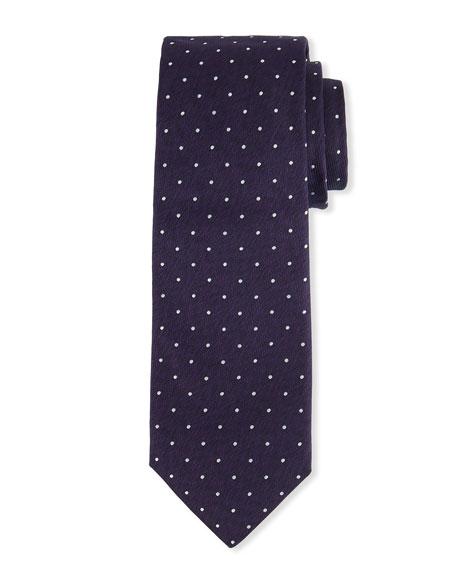 BOSS Men's Dotted Silk Tie