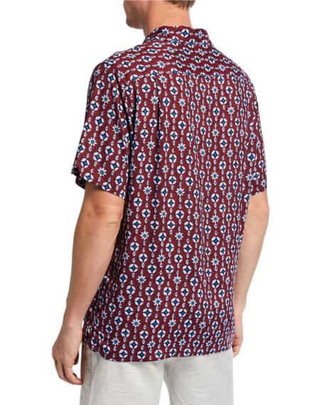 Reyn Spooner Men's Eye See U Graphic Camp Shirt