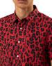 Ovadia & Sons Men's Leopard-Print Woven Shirt