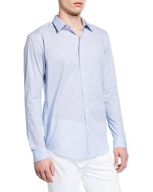 1a3798faffb Theory Men s Irving Mast-Print Sport Shirt