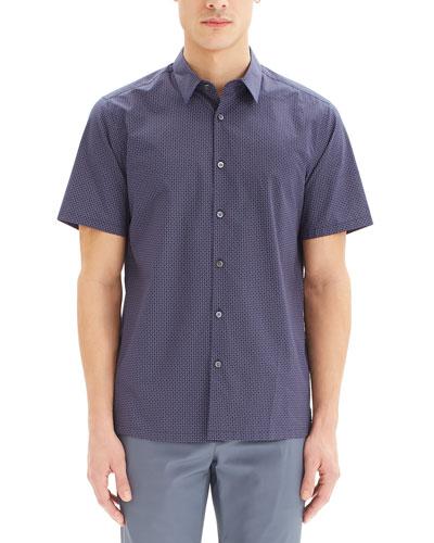 Men's Irving Sillar Short-Sleeve Sport Shirt