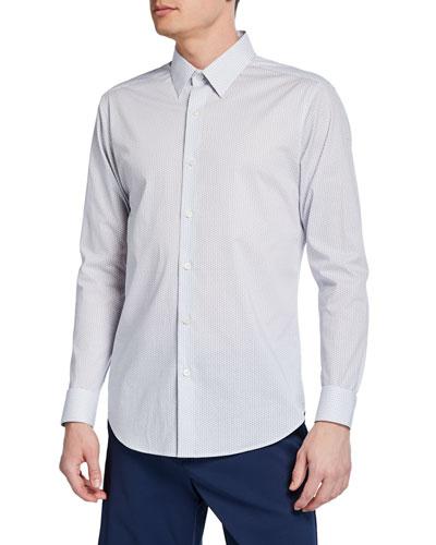 Men's Sylvain Orton-Print Sport Shirt