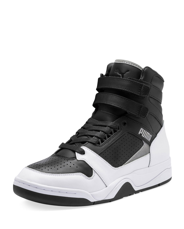 91a3dad4afb Puma Men s Palace Guard High-Top Moto Sneakers