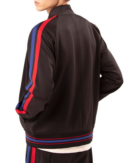 Ovadia & Sons Men's Sidestripe Track Jacket