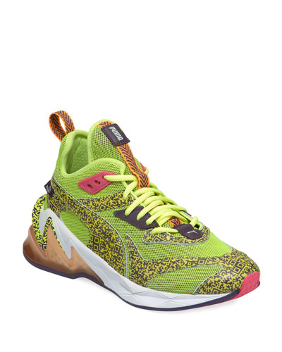 Men's LQDCell Origin Mesh Running Sneakers  Yellow