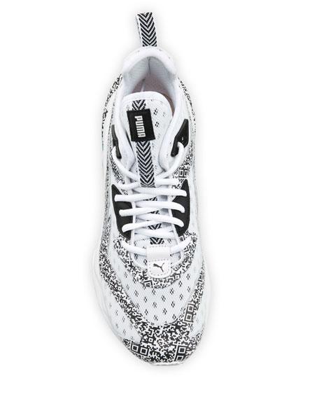 Puma Men's LQDCell Origin Mesh Running Sneakers, White