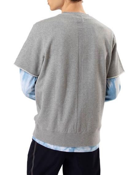 Ovadia & Sons Men's Type 01 Crewneck Short-Sleeve Sweatshirt