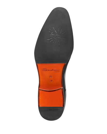 Santoni Men's Iafet Levante Leather Oxford Shoes