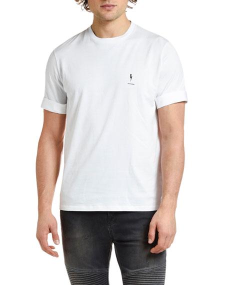 Neil Barrett Men's 20th Anniversary T-shirt In White/black
