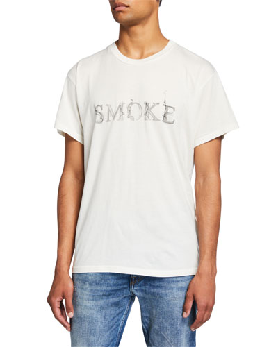 Men's Smoke Graphic Short-Sleeve T-Shirt