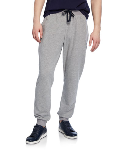 Men's Classic Terry Drawstring Trousers